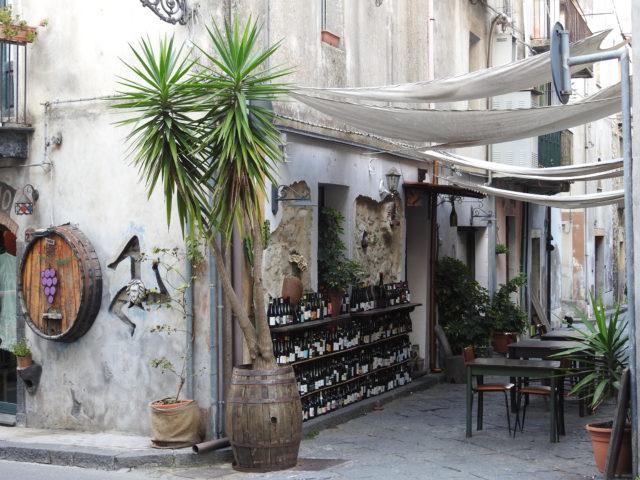 Fra vinbyen Castiglione di Sicilia.  Foto:  KirstenSoele