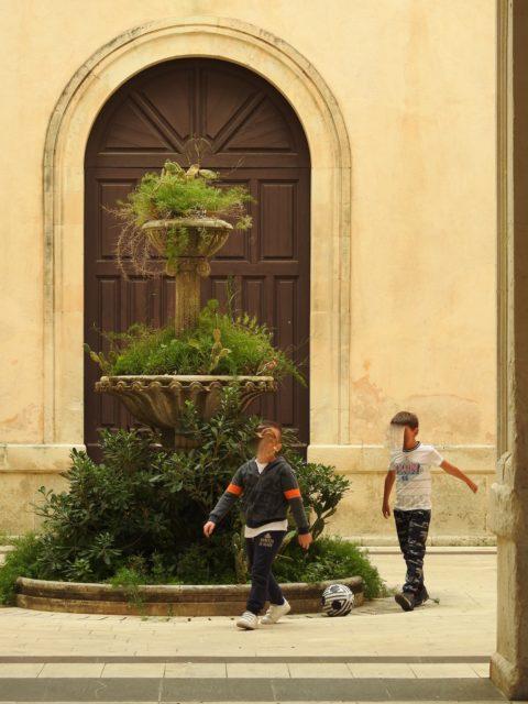 Den indre gård i Palazzo del Municipio. Foto: KirstenSoele