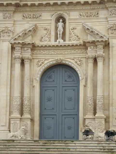 Indgangsparti, Basilica di San Sebastiano. Foto: KirstenSoele