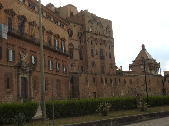 Palazzo dei Normanni i Palermo. Foto: KirstenSoele