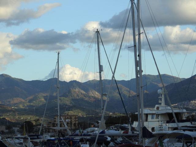 Fra havnen i Milazzo. Foto: KirstenSoele