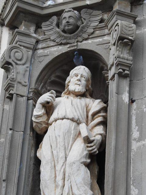 San Giacomo skabt af Tommaso Amato, Basilica della Madonna della Catena. Foto: KirstenSoele