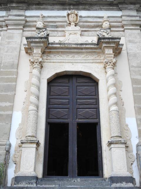 Indgangsportalen til Basilica della Madonna della Catena. Foto: KirstenSoele