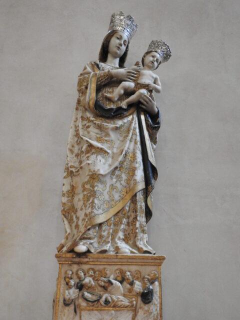 Statue af Madonna con Bambino, udført af Antonello Gagini, 1533. Foto: KirstenSoele